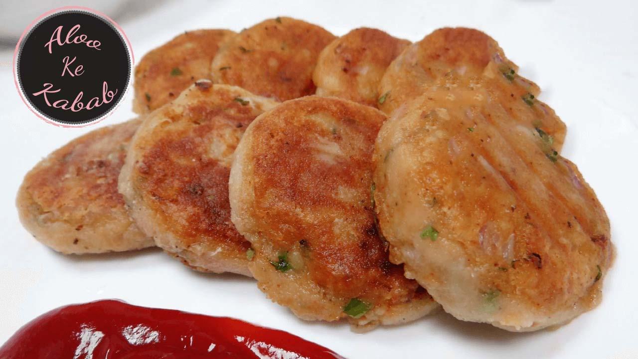 Tasty Aloo Kabab At Home