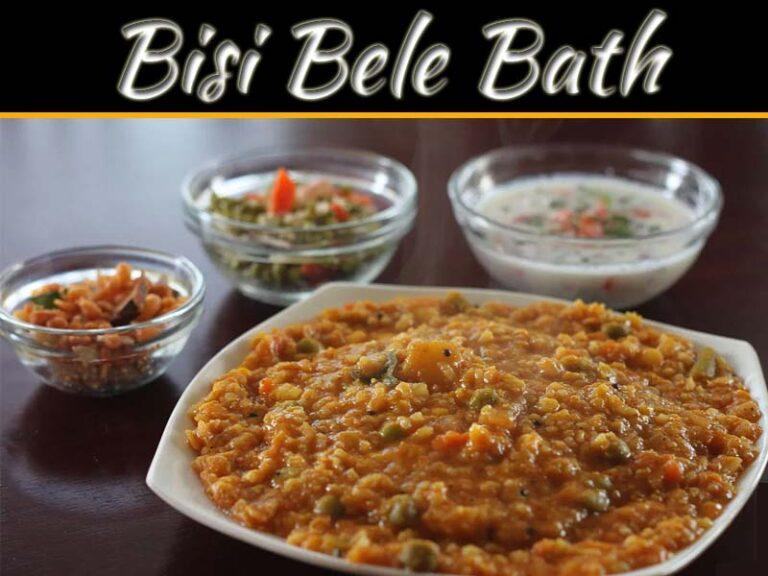 Bisi Bele Bath In Authentic Karnataka Style