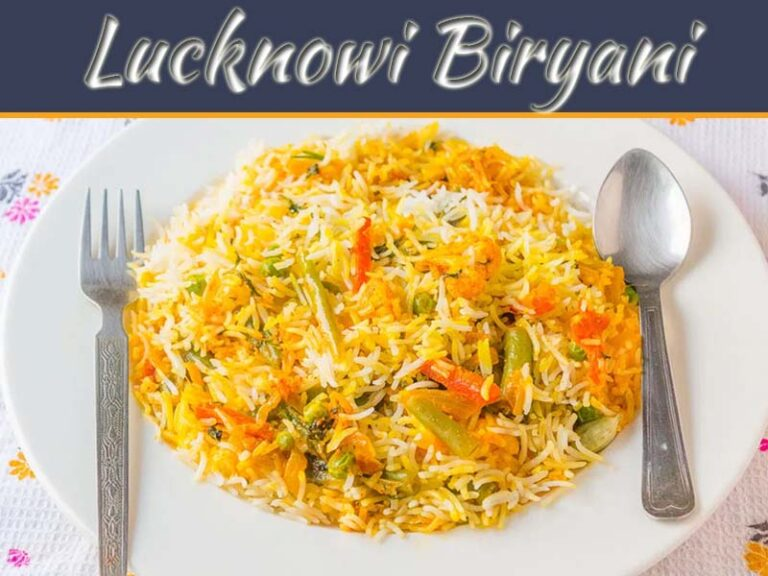 Delightful Veg Lucknowi Biryani – Awadhi Biriyani Recipe