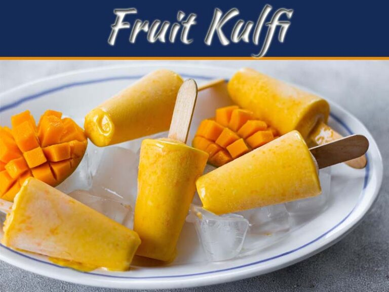 Enjoy The Latest Trend Of Kulfi Filled In Fruits