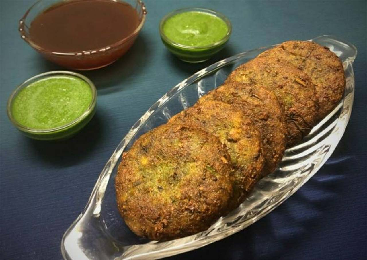 Healthy Moong Sprout Kebab