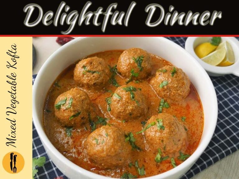 How To Make A Mixed Vegetable Kofta For A Delightful Occasion?