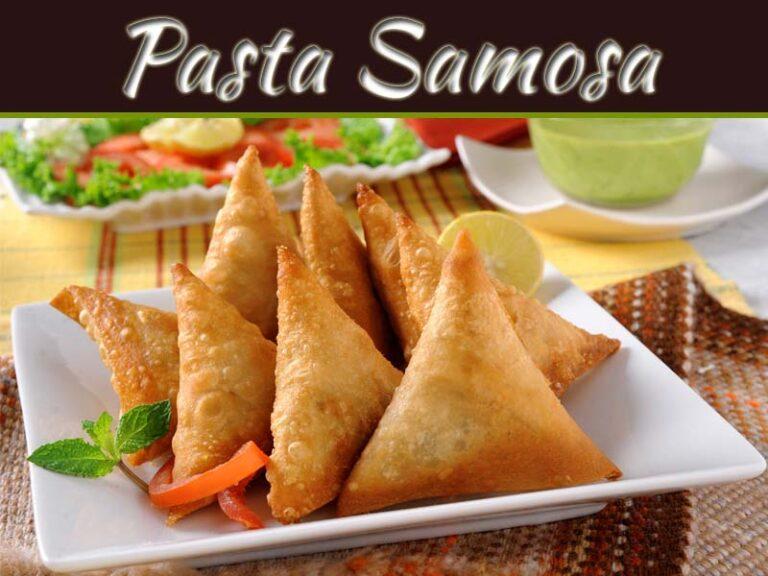 Indian Samosa With Italian Twist: Utterly Delicious Pasta Samosa
