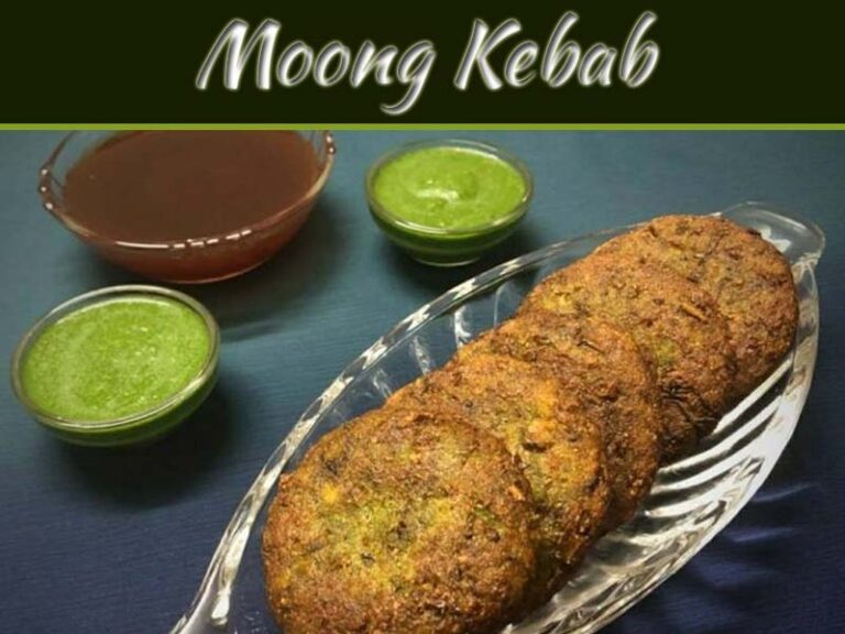 Healthy Moong Sprout Kebab Recipe