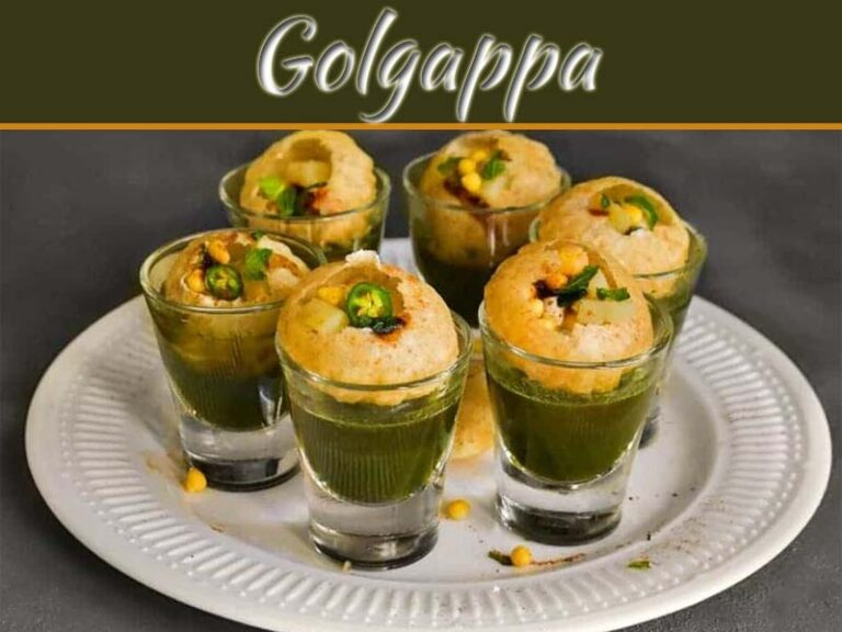 The Best Fusion Of Vodka Filled In Golgappa