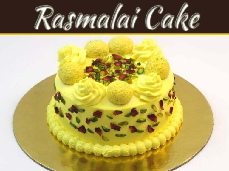 The Blend Of Modern And Traditional Sweets: Eggless Rasmalai Cake