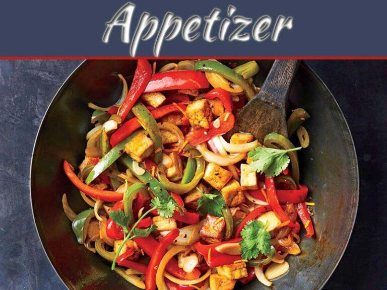 Tofu Bell Pepper Stir-Fry Recipe