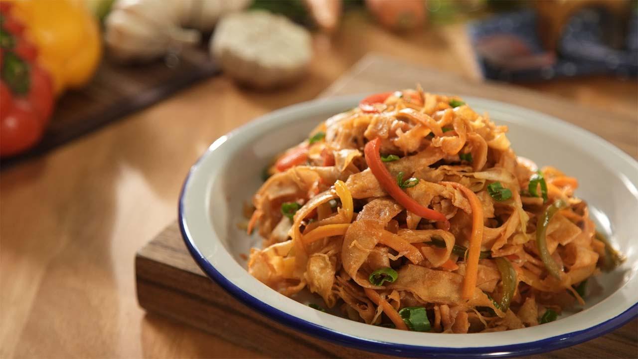 Vegetable Chapati Noodles