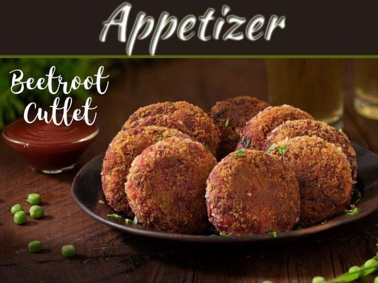 Beetroot Cutlet – Spiced Beet Patties Recipe