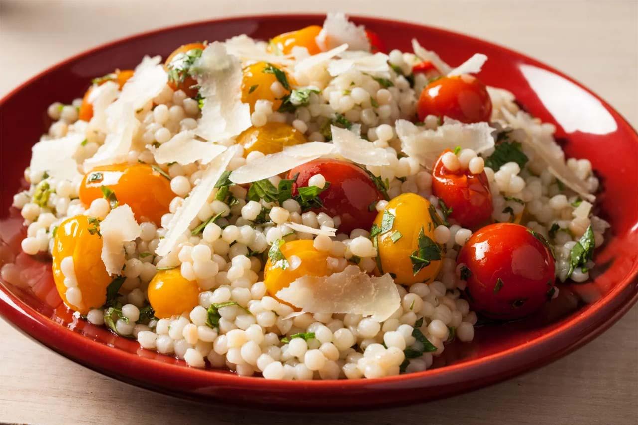 Cherry Tomato Couscous Salad