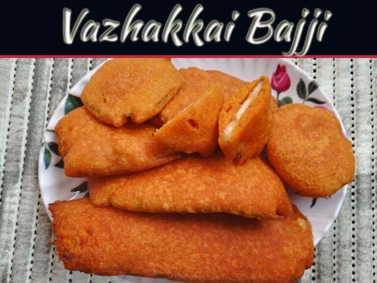 Delicious Jain Vazhakkai Bajji Recipe