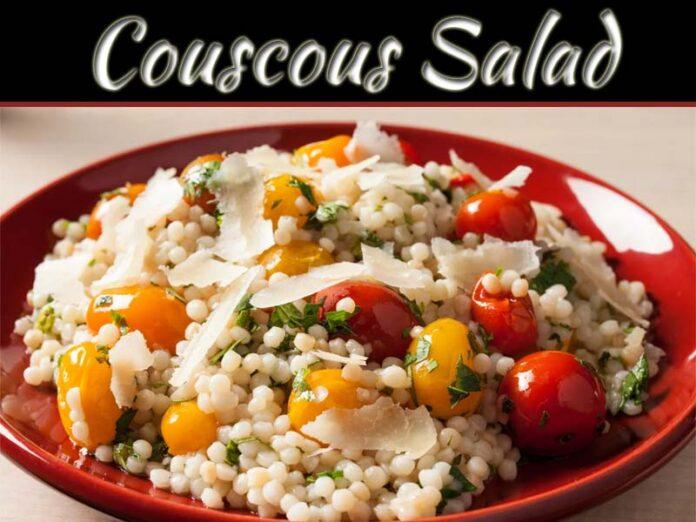 Summer Favorite: Cherry Tomato Couscous Salad