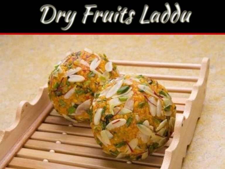 Dry Fruits Laddu: Combination Of Dates And Nuts