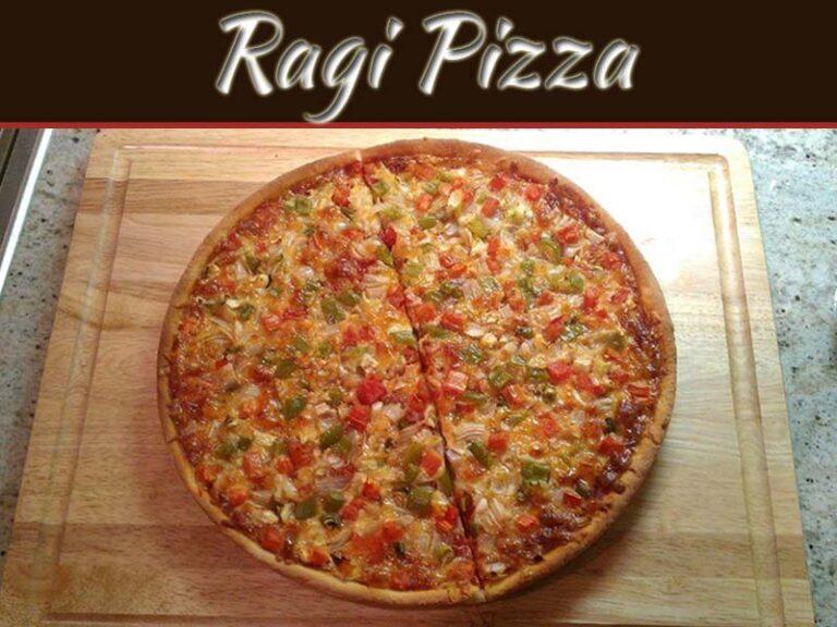 Healthy Super Easy Ragi Pizza Recipe