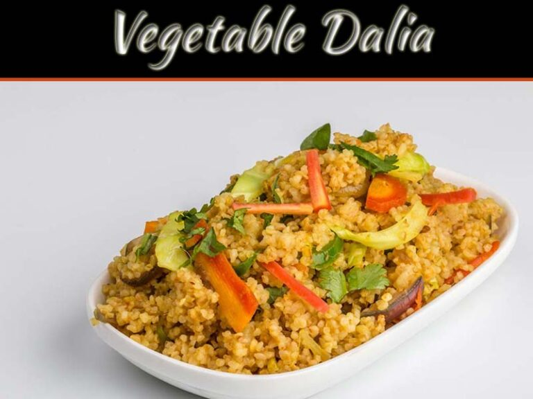 Recipe For Delicious And Healthy Vegetable Dalia